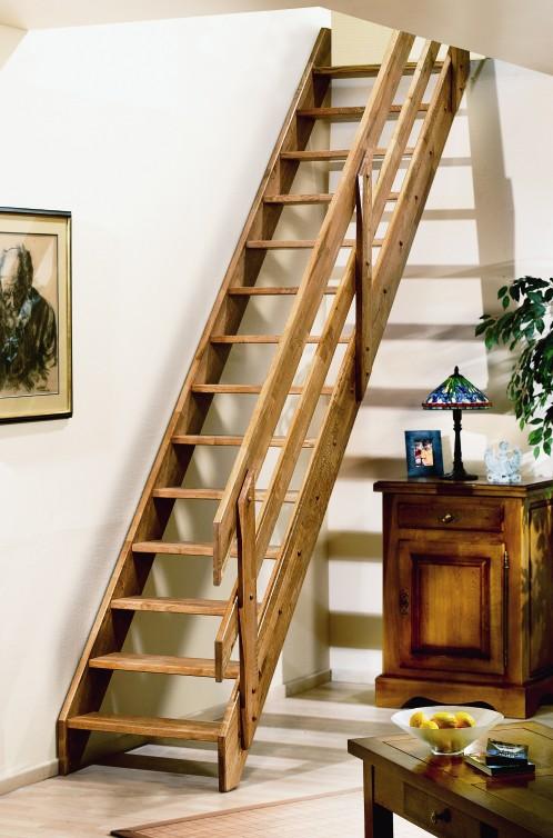 Eiken houten trappen bouwpakket trap ardennes - Houten trap ...