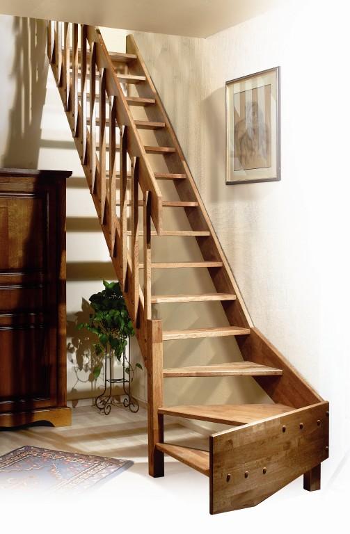 eiken houten trappen bouwpakket trap ardennes