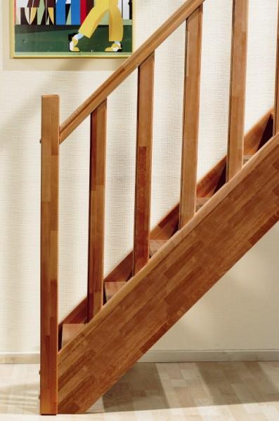 Eiken houten trappen bouwpakket trappen houten en stalen for Steektrap hout